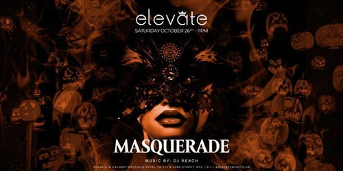 Masquerade Bash at Elevate Nightclub Halloween