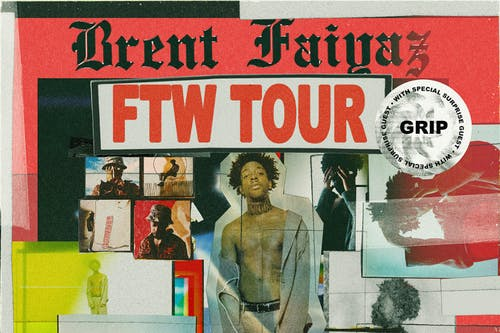 Brent Faiyaz FTW Tour