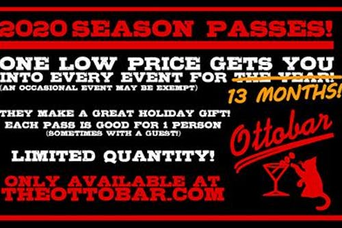 2020 Ottobar Season Pass