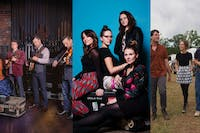 Back Porch Bluegrass with The Travelin' McCourys, Della Mae, and Hawktail