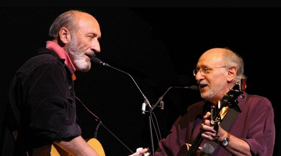 Peter Yarrow and Noel Paul Stookey (of Peter, Paul & Mary) - 4/10/21