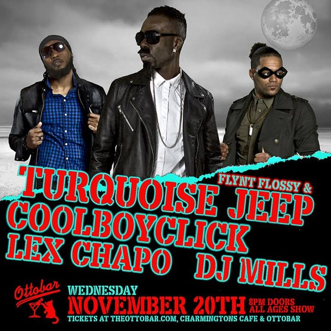 Flint Flossy and Turquoise Jeep, CoolBoyClick, DJ Mills