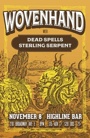 Wovenhand, Dead Spells, Sterling Serpent