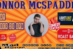 Connor McSpadden as seen on Comedy Centrals show Lights Out w/ David Spade!