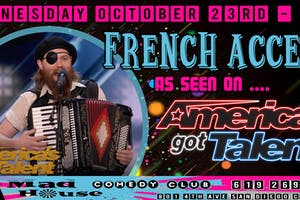French Accent as seen on America's Got Talent!