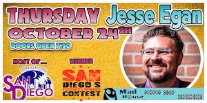 Jesse Egan Winner - SDFPC, Host of Tonight in San Diego, Laughs on Fox!