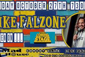 """Mike Falzone as seen on Comedy Dynamics """"Coming to the Stage!"""