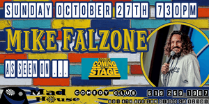 "Mike Falzone as seen on Comedy Dynamics ""Coming to the Stage!"