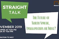Straight Talk: The Future of North Simcoe, Amalgamation or What?