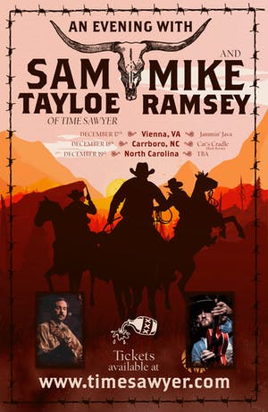 Sam Tayloe (of Time Sawyer) + Mike Ramsey