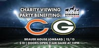 Bears vs Packers Viewing Benefit for IL Doberman Rescue + at BHouse LIVE