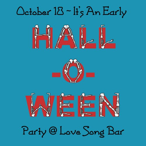 Hall-O-Ween Party: Playing Boogie, Modern Funk and Soul All Night