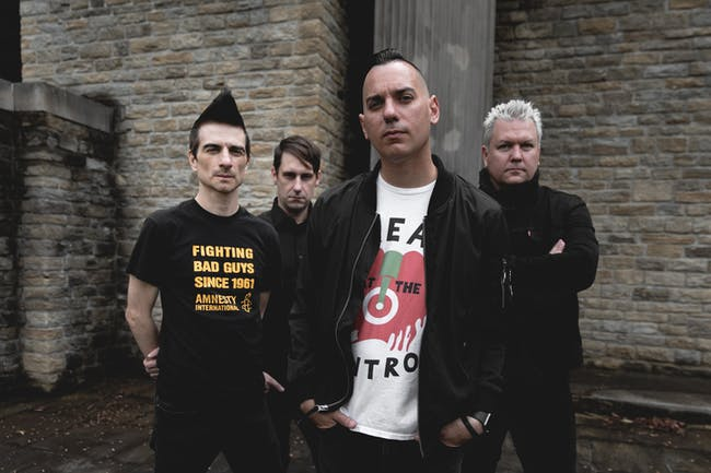 Anti-Flag: 20/20 Vision Tour