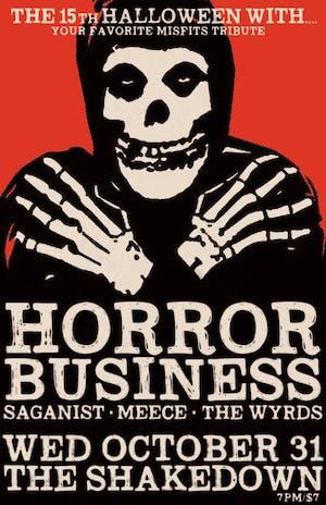 Halloween with Horror Business, Alkaline Quartet (tribute), Asema