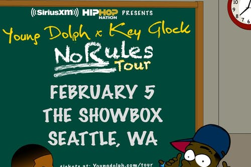 Young Dolph & Key Glock @ The Showbox