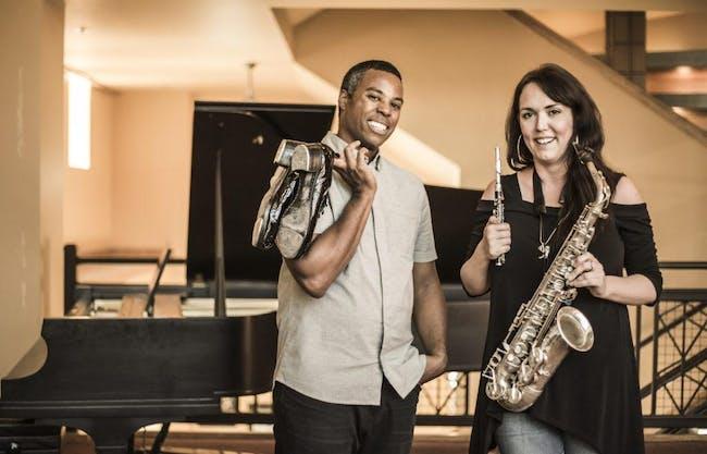 Sax & Taps - with DeWitt Fleming Jr. & Erica von Kleist