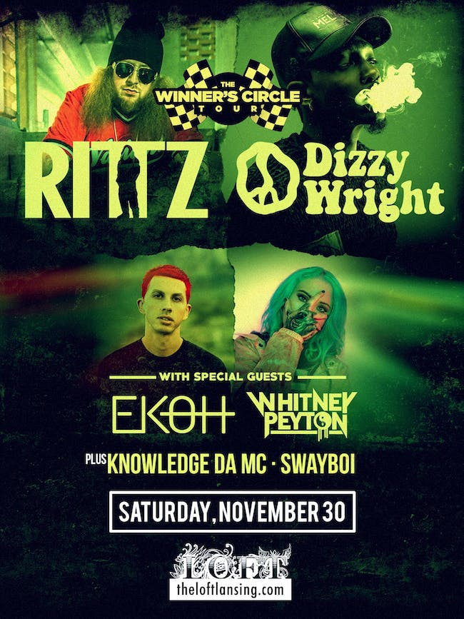 Winners Circle Tour featuring Rittz, Dizzy Wright, Ekoh and Whitney Peyton