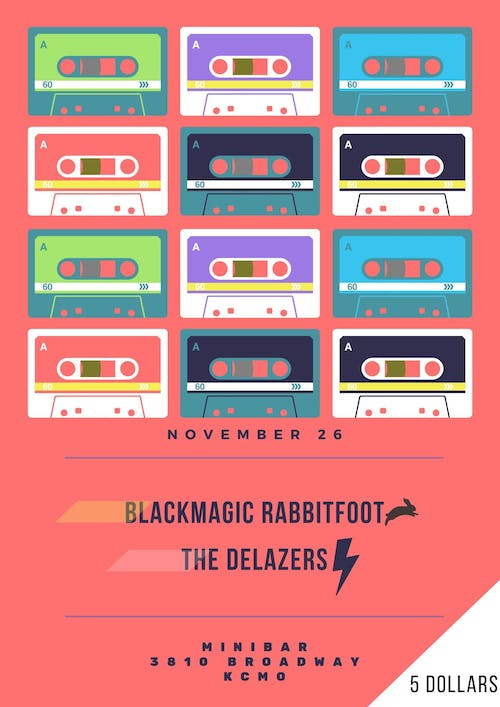 BlackMagic Rabbit Foot /  The  Delazers