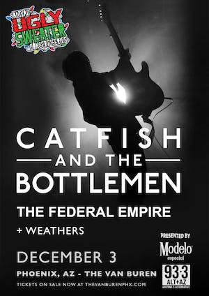 Catfish and the Bottlemen - Ugly Sweater Concert Series