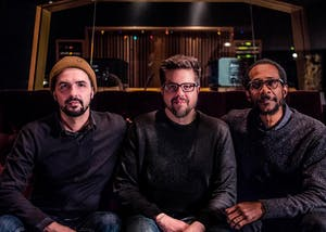 "Jeff Denson, Romain Pilon & Brian Blade ""Between Two Worlds"" CD Release"