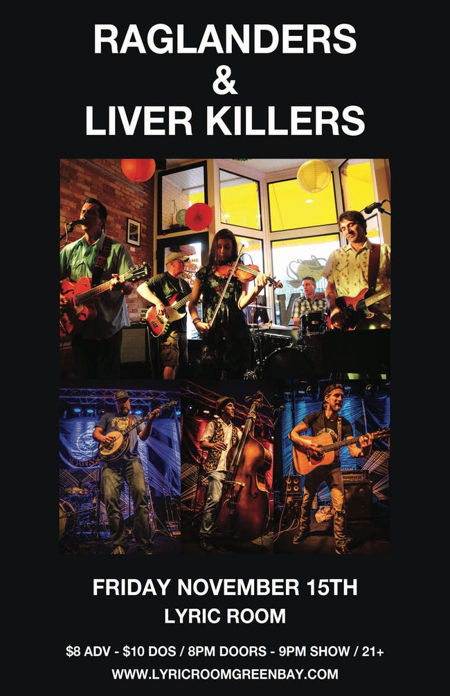 LIVER KILLERS & THE RAGLANDERS