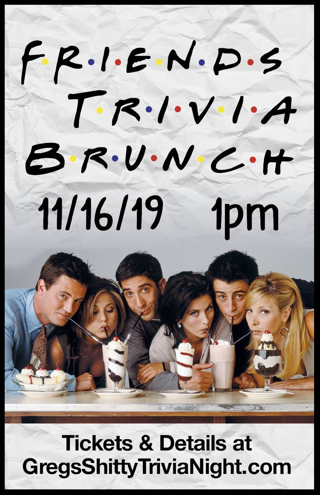Friends Trivia Brunch 1.0