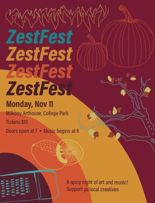 ZestFest: A Spicy Night of Art and Music!
