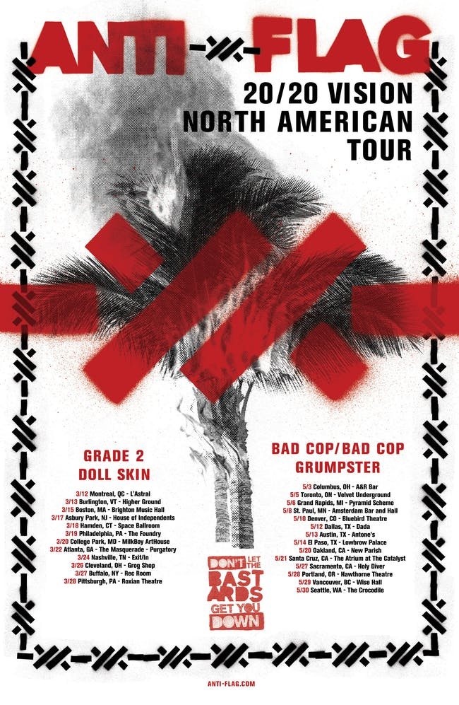 Anti-Flag w/ Grade 2 & Doll Skin