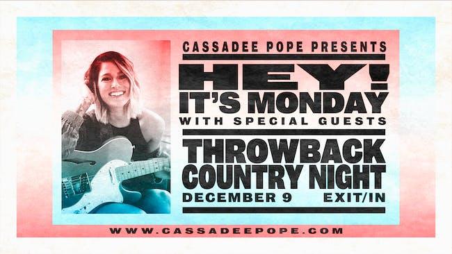 Cassadee Pope's Throwback Country Night