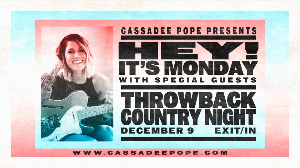 Cassadee Pope's Throwback Country Night