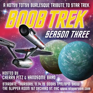 A Hotsy Totsy Burlesque Tribute to Star Trek