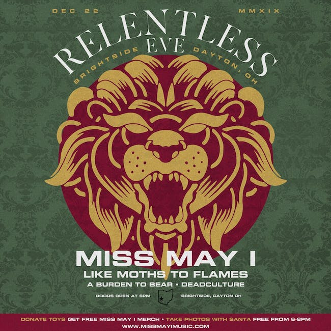 Miss May I @ The Brightside (12/22)