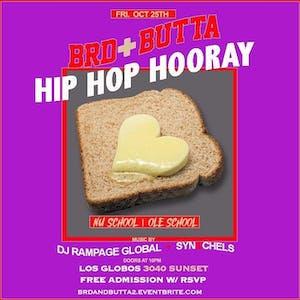 BRD & BUTTA - Hip Hop Hooray