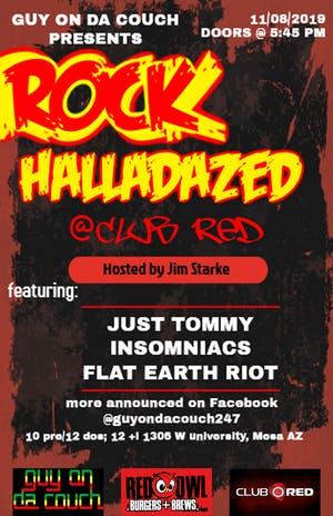 Rock Halladazed