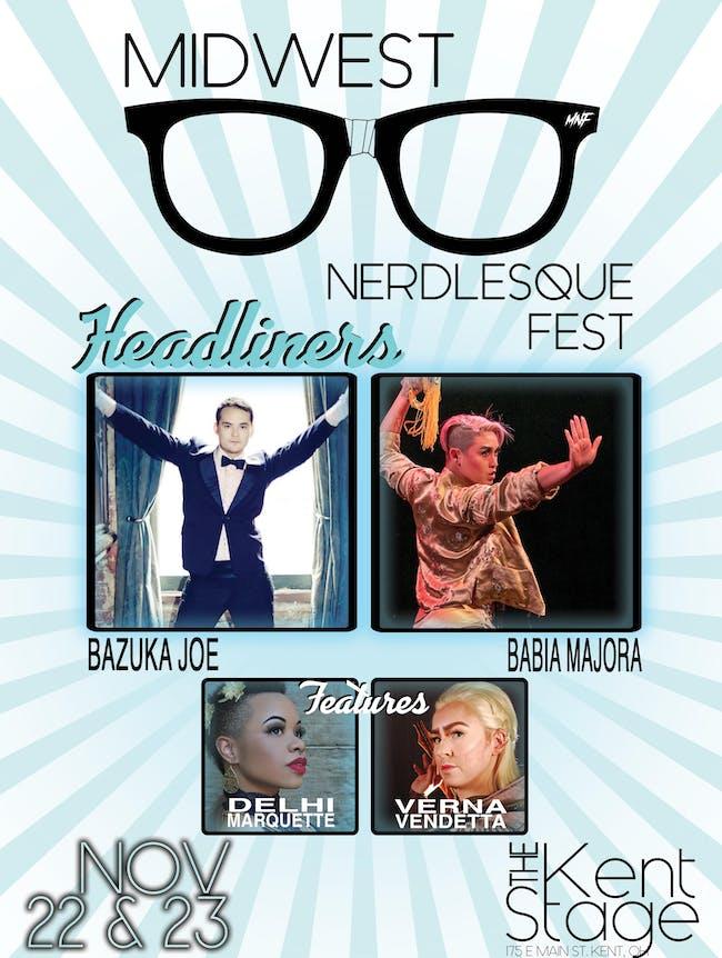 Midwest Nerdlesque Fest - 2 Day Pass