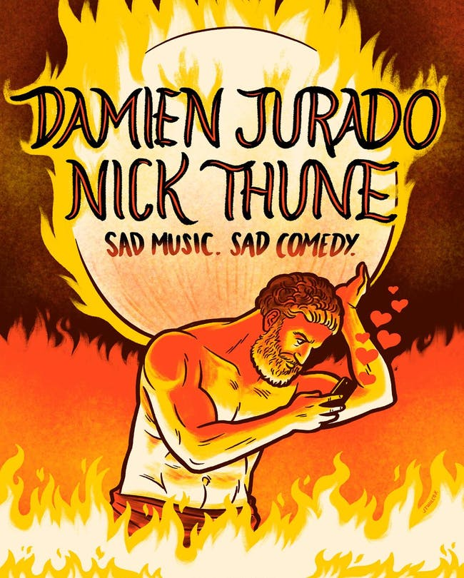 Nick Thune and Damien Jurado – Sad Music, Sad Comedy
