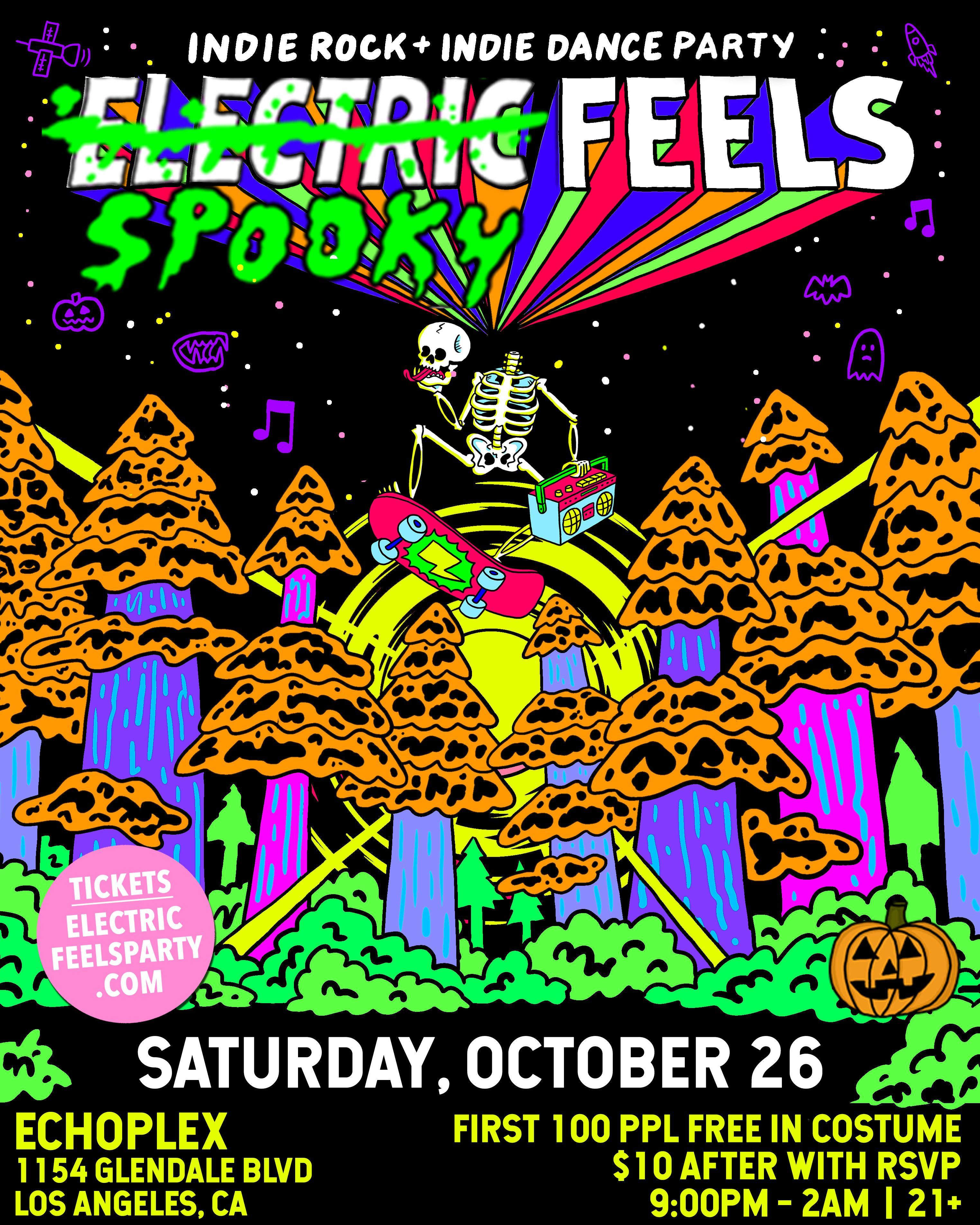 ELECTRIC FEELS: Indie Rock + Indie Dance Night