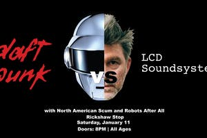 LCD SOUNDSYSTEM VS DAFT PUNK - TRIBUTE NIGHT