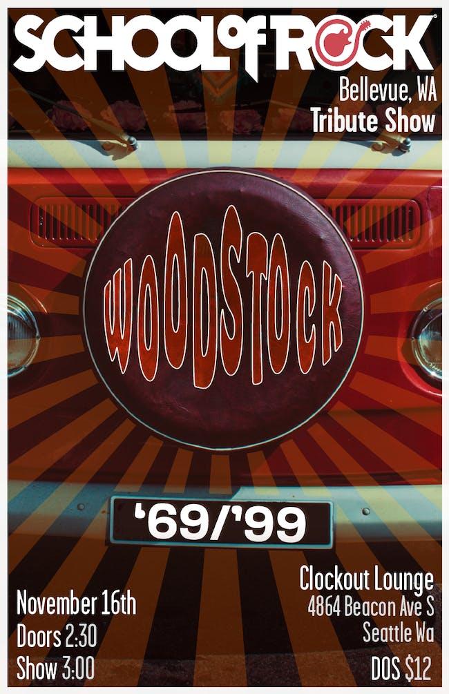School of Rock Bellevue - Woodstock '69 vs. Woodstock '99