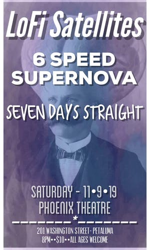 LoFi Satellites | 6 Speed Supernova | Seven Days Straight