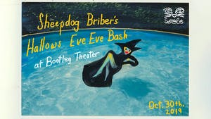 Sheepdog Briber's Hallows Eve Eve Bash