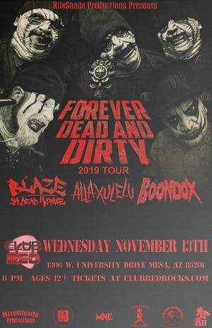 Forever Dead & Dirty Tour 2019