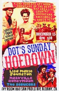 Dot's Hoedown Feat. Lisa Marie Johnston, Nashville Honeymoon, The Seducers