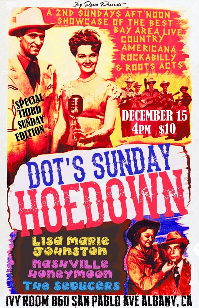 Dot's Hoedown Feat. Lisa Marie Johnston, Nashville Honeymoon, The Seducers