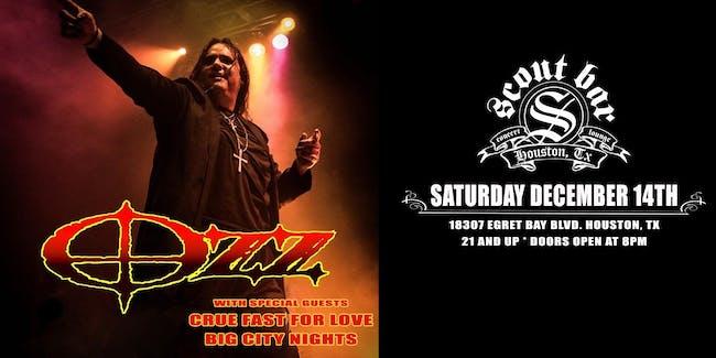 OZZ- a tribute to Ozzy Osbourne