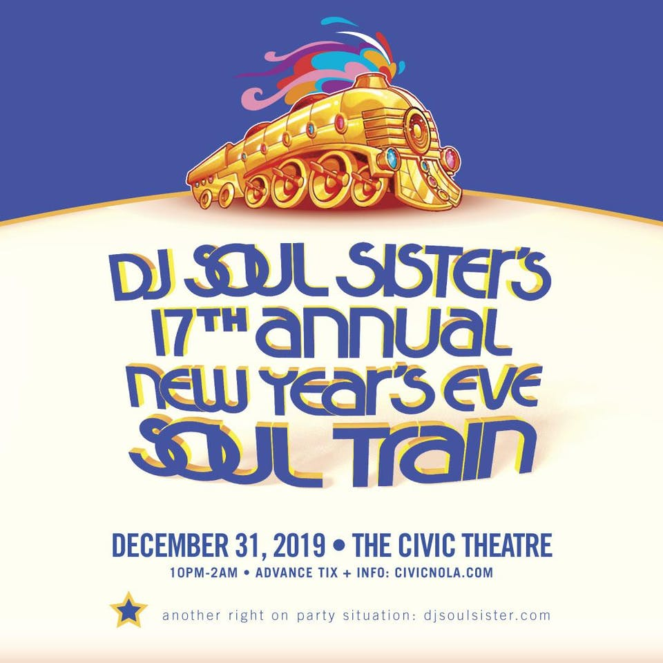 DJ Soul Sister's 17th Annual New Year's Eve Soul Train