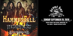 HAMMERFALL - POSTPONED - NEW DATE COMING SOON