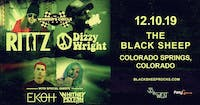 Rittz & Dizzy Wright w/ Ekoh, Whitney Peyton AT THE BLACK SHEEP
