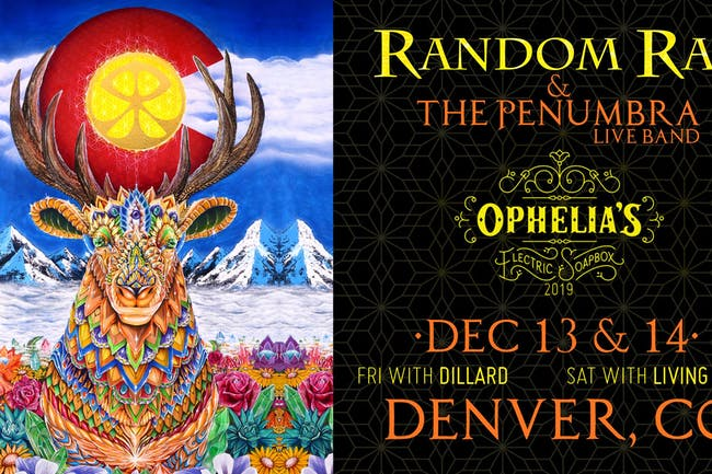 Random Rab & The Penumbra Live Band w/ Dillard