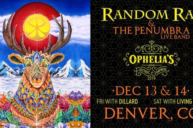 Random Rab & The Penumbra Live Band w/ Living Light